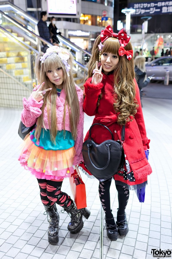 "Angelic Pretty ""Fantastic Dolly"", 6%DOKIDOKI & Tulle Skirt in Shibuya"