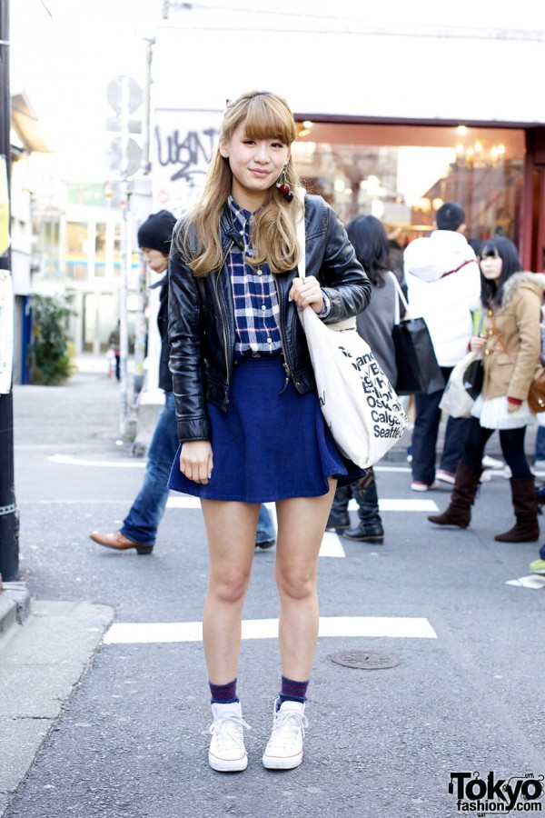 Tokyo Winter Bare Legged Style