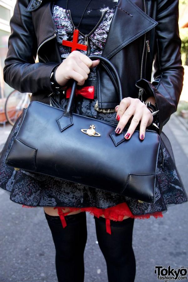 Vivienne Westwood purse in Harajuku