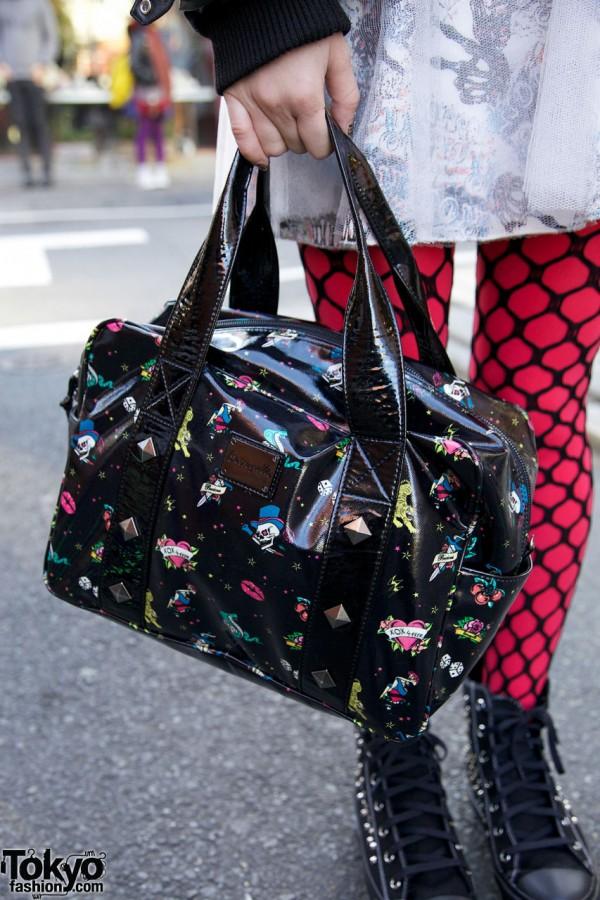 Betsy Johnson purse in Harajuku