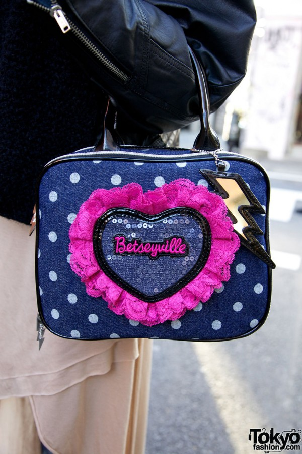 Betseyville handbag by Betsey Johnson