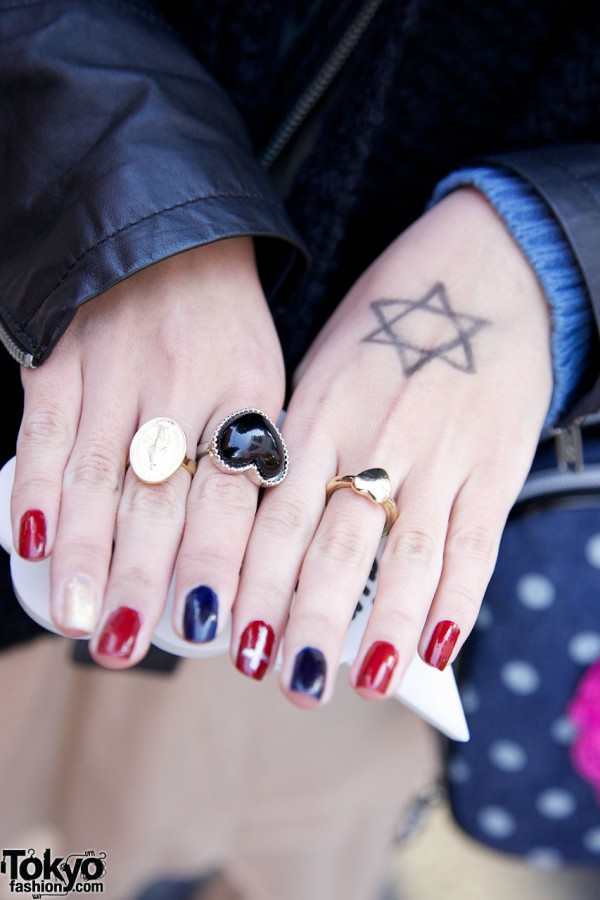Heart Rings & Japanese Nail Art