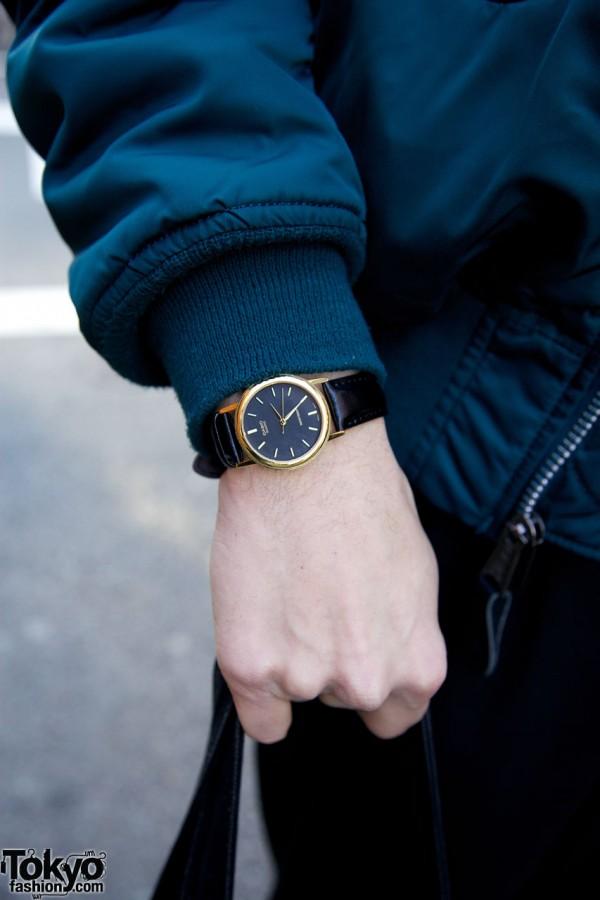Casio watch in Harajuku