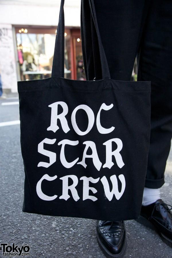 Roc Star Crew bag in Harajuku
