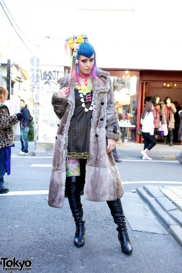 Vani from 6%DOKIDOKI in Harajuku