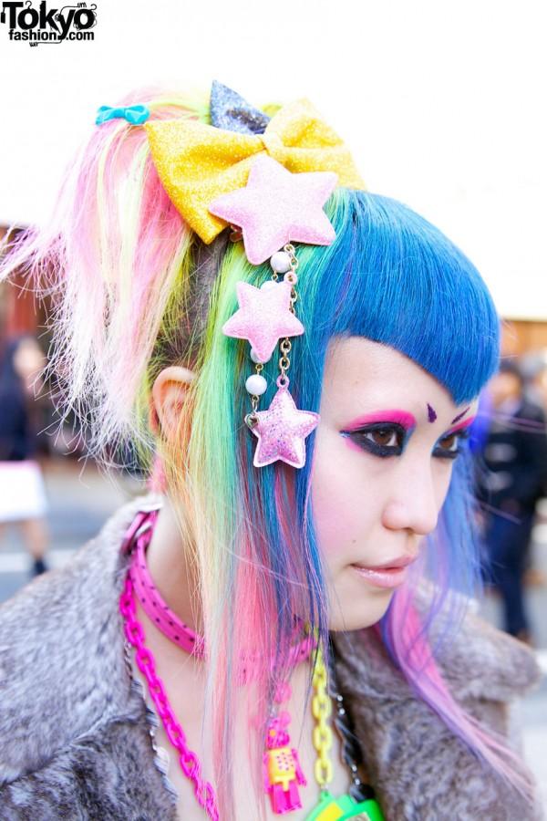 Star Hairclips from 6%DOKIDOKI Harajuku