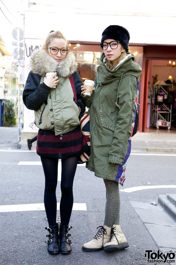 Ami & Aya of Jouetie on the Street in Harajuku