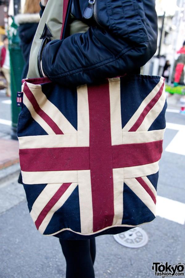 Union Jack Bag in Harajuku