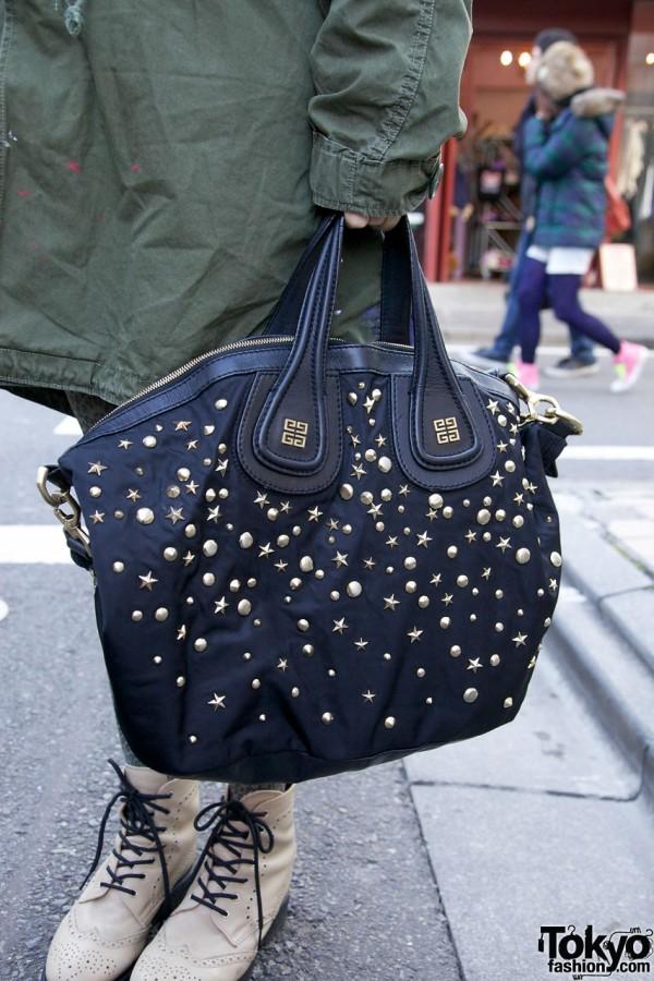 Studded Givenchy Handbag in Harajuku