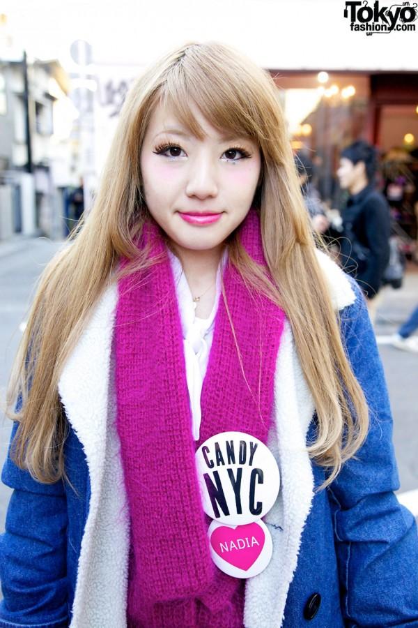 Candy & Nadia Harajuku Buttons