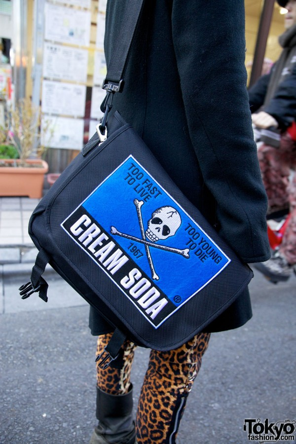 Cream Soda Skull Bag in Harajuku