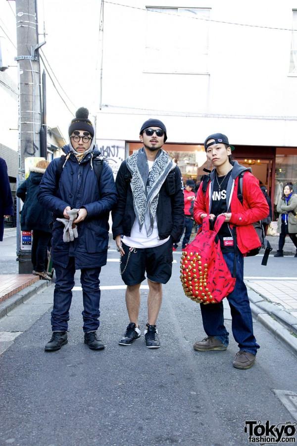 Harajuku Streetwear Style Guys