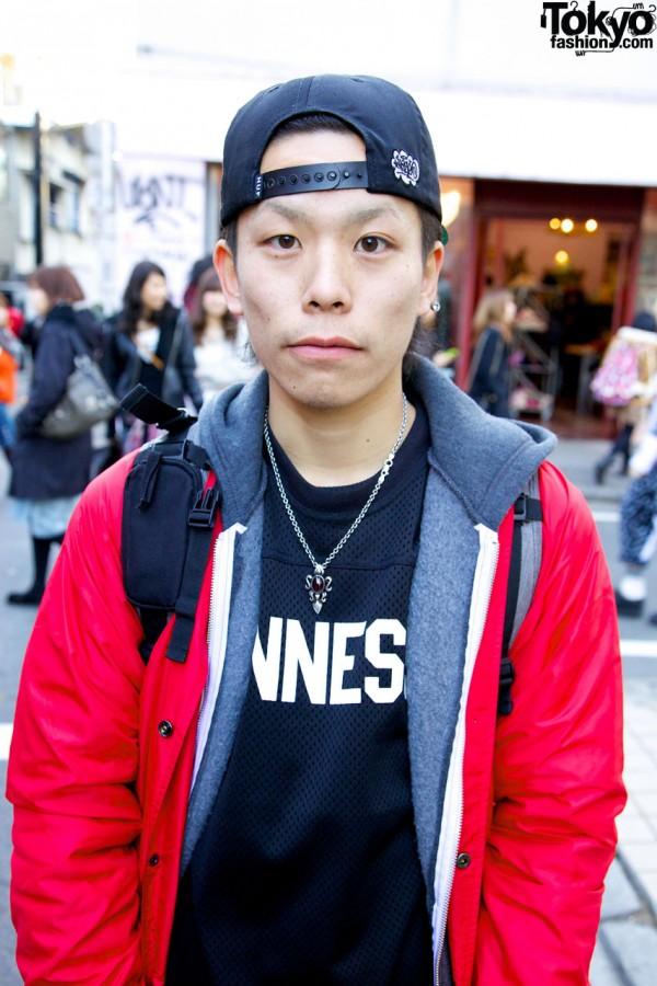 Supreme x Champion Jacket in Harajuku