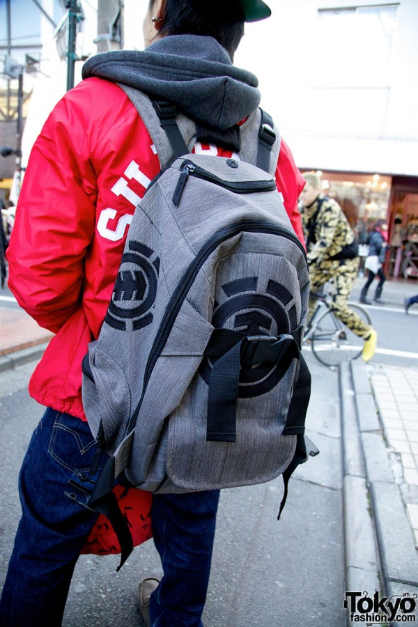 Element Backpack in Harajuku