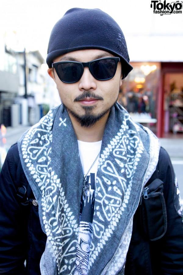 Bounty Hunter Jacket in Harajuku