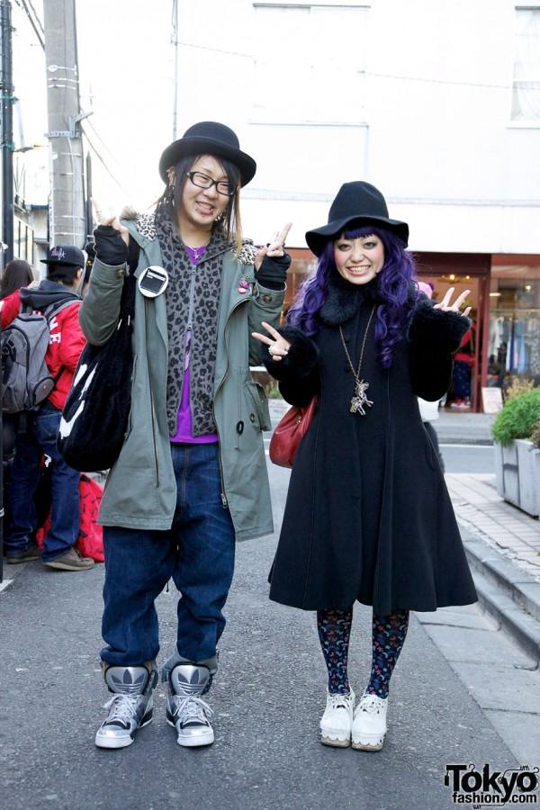 World Wide Love parka & Victorian Maiden coat