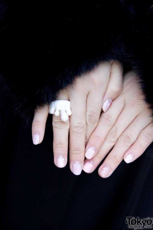Q-Pot ring in Harajuku