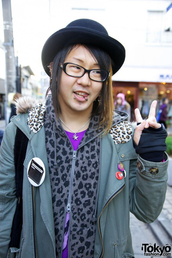 World Wide Love parka & hoodie in Harajuku