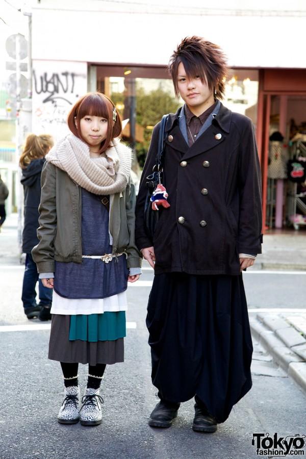 Guy's Funky Fruit Sarueru & Girl's Clef de Sol Layers