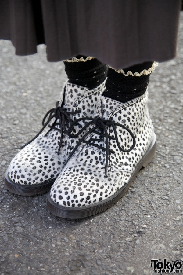Spotted Arrow boots from Harajuku
