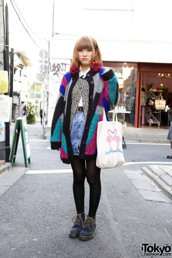 Haight & Ashbury Patchwork Sweater in Harajuku