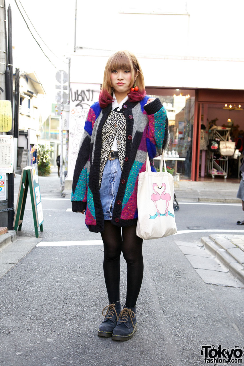 Haight & Ashbury Patchwork Sweater in Harajuku
