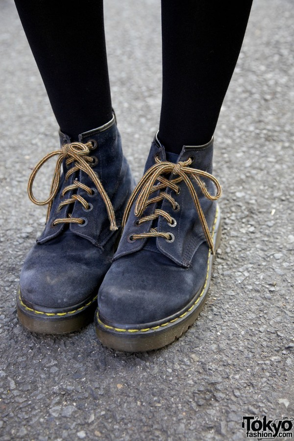 Dr. Martens shoes in Harajuku