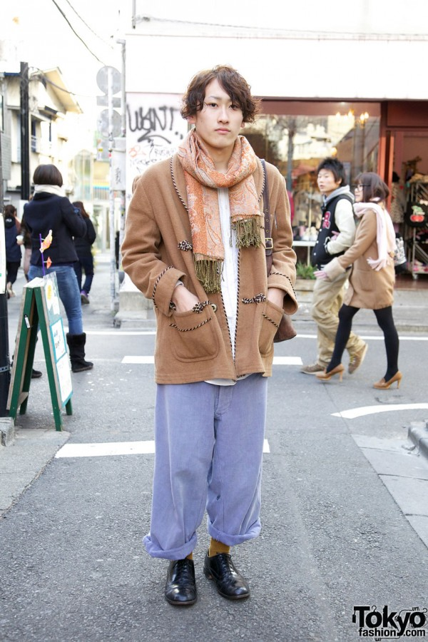 Trimmed Jacket from Haight & Ashbury with Fringed Scarf