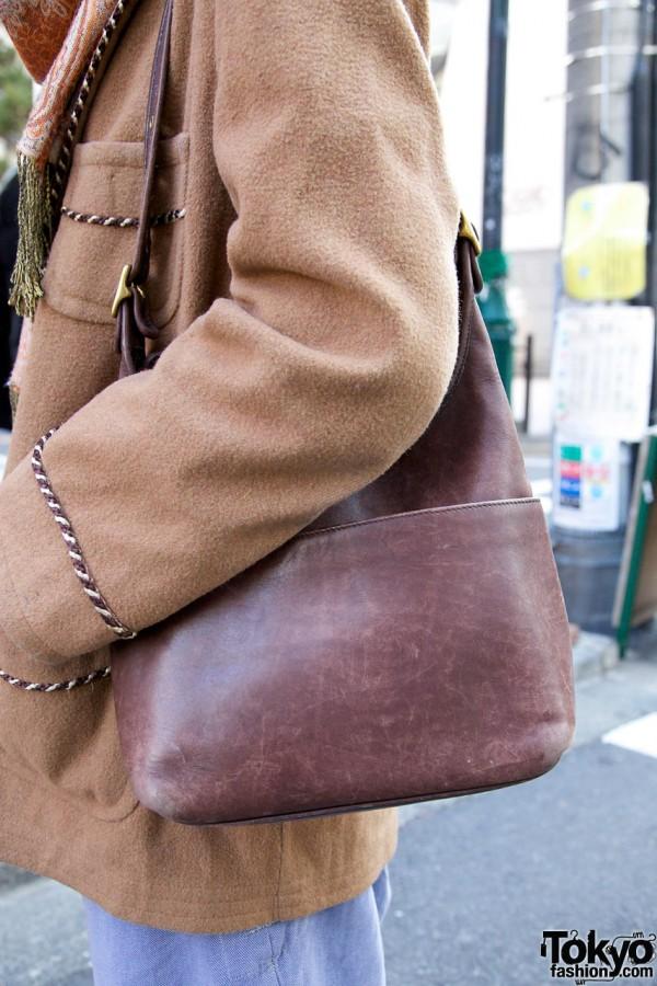 Haight & Ashbury leather bag in Harajuku