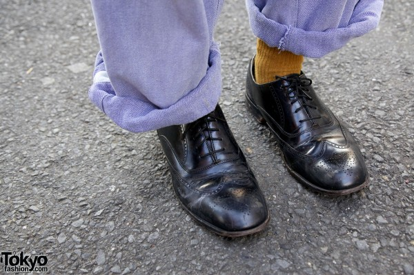 Wingtip dress shoes from Grapefruit Moon