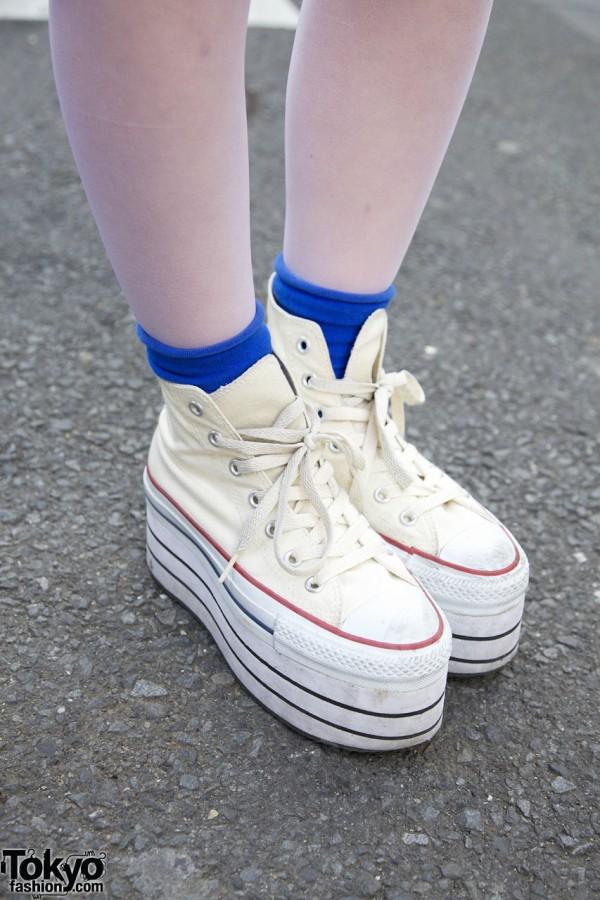 Nadia Harajuku Platform Converse Sneakers