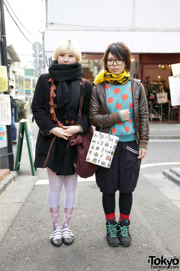 Vivienne Westwood Coat & Resale Polka Dot Top in Harajuku