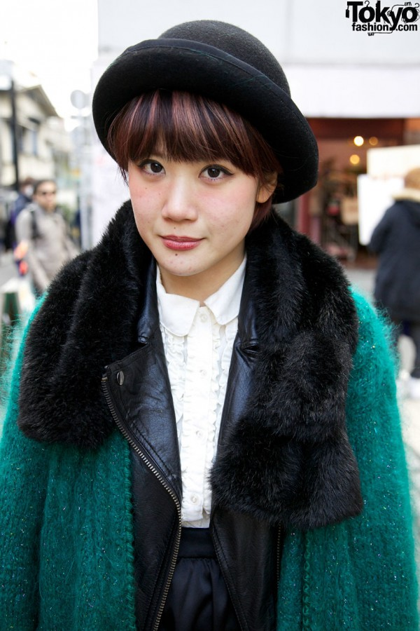 Mohair sweater from Haight & Ashbury in Harajuku
