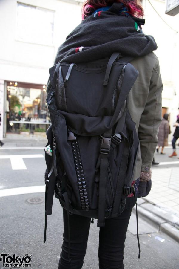 Memento backpack in Harajuku