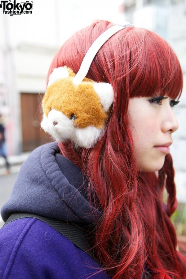 Cute Teddy Bear Ear Muffs