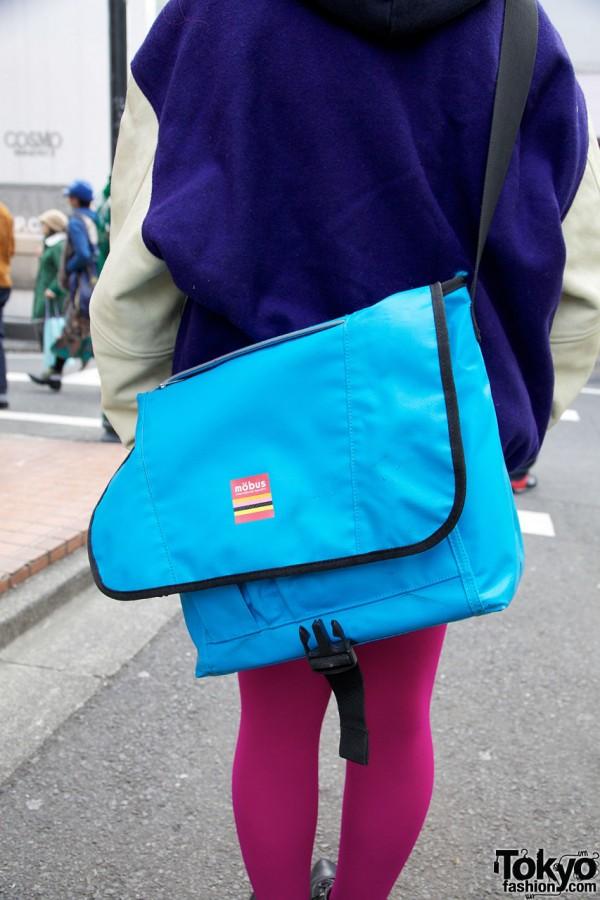 Mobus Messenger Bag in Harajuku