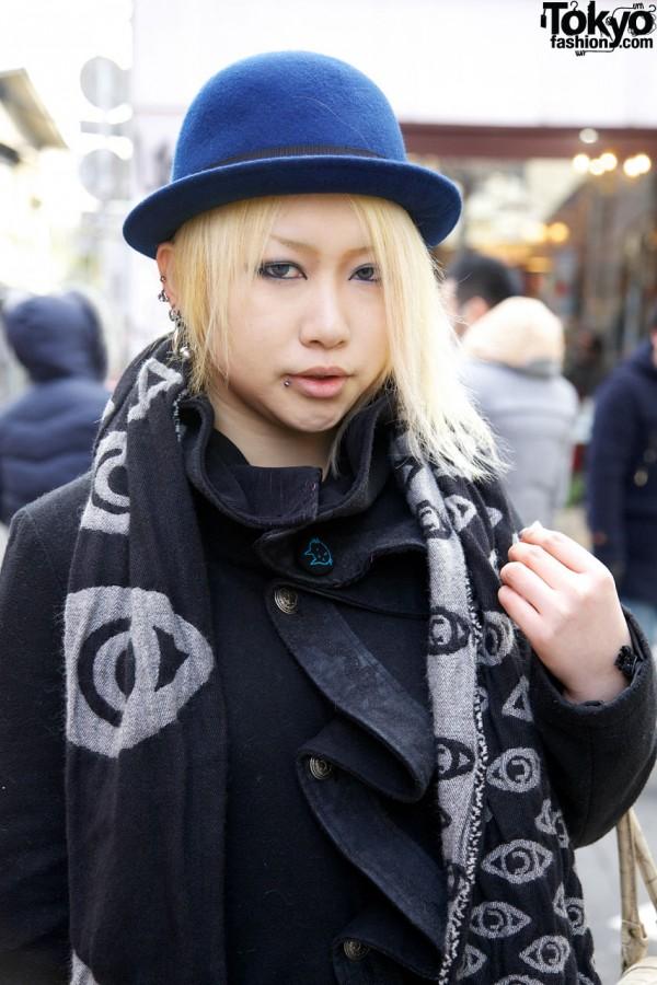 h.Naoto Sixh Coat in Harajuku