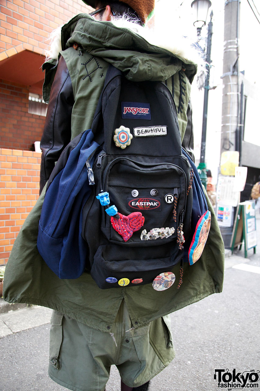 Decorated Jansport Backpack From Yeah Right Tokyo