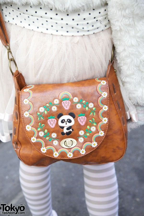 Cute Panda Purse by Swimmer