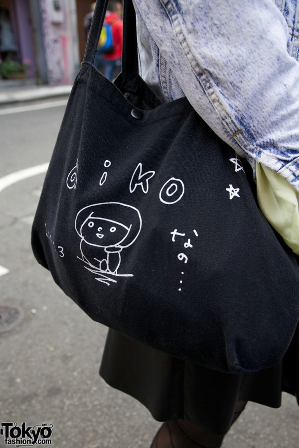 Aiko J-Pop Canvas Handbag