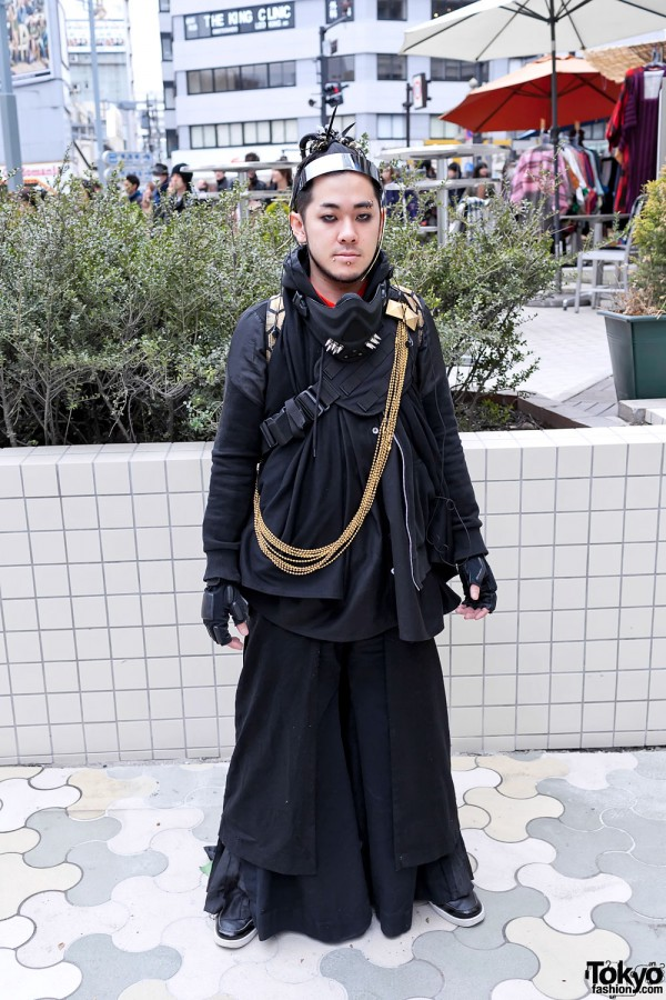 Japanese Cybergoth Fashion in Harajuku