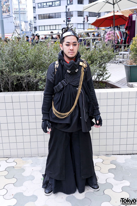 Japanese Cybergoth Fashion in Harajuku