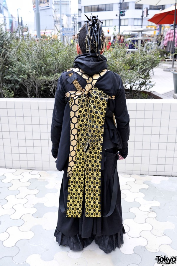 Kimono-inspired Cybergoth Fashion