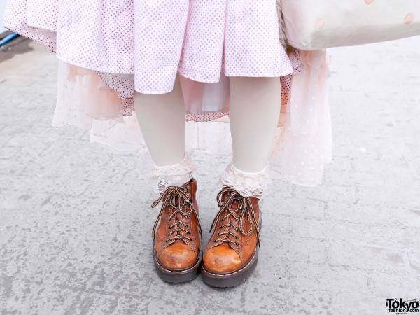 Ruffle Socks & Cute Boots