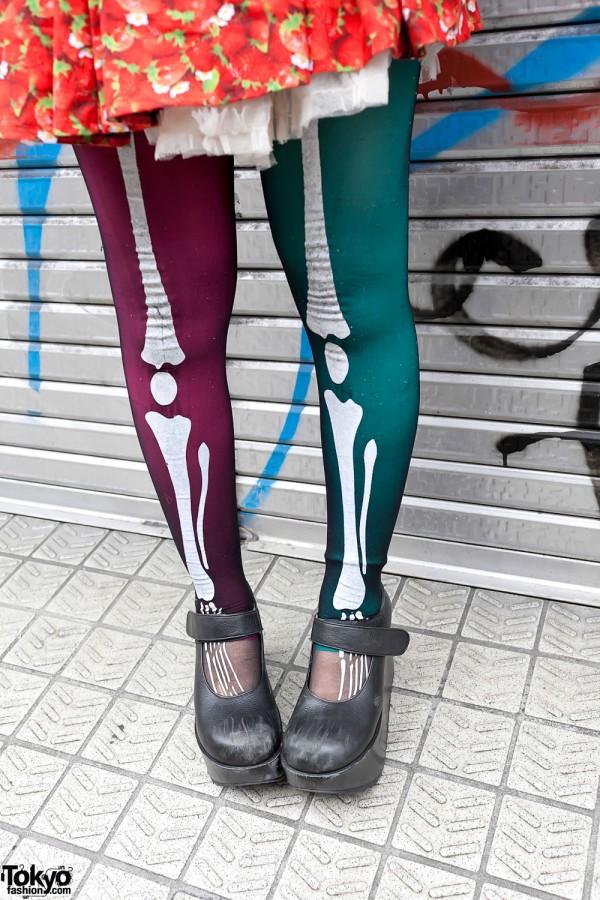 Skeleton Tights & Rocking Horse Shoes