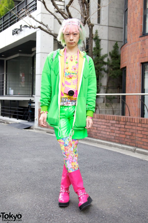 Harajuku Fashion Walk #9 – Kawaii Japanese Street Fashion Parade
