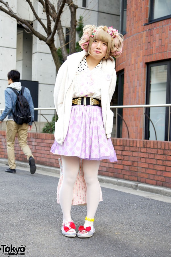 Harajuku Fashion Walk Street Snaps 9