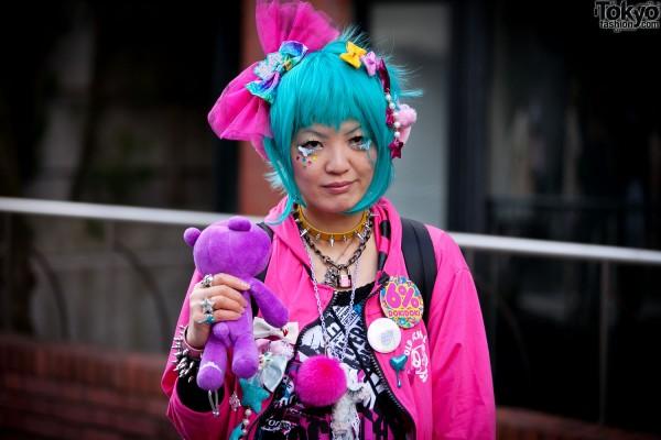 Harajuku Fashion Walk Street Snaps 9
