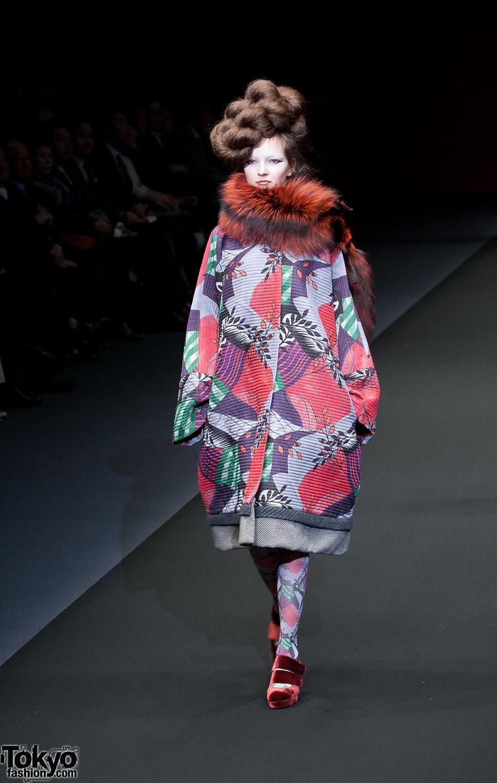 Hiroko Koshino 2012 A W 125 Tokyo Fashion News