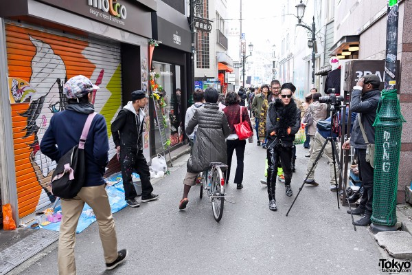 Jeremy Scott on the Street in Harajuku